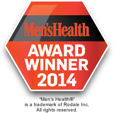 2014 Men's Health Award Winner