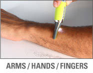 Micro Touch® Max - Arms/Hands/Fingers