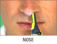Micro Touch® Max - Nose